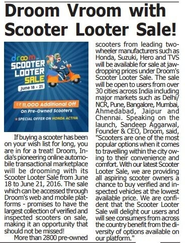 Scooter Looter Sale