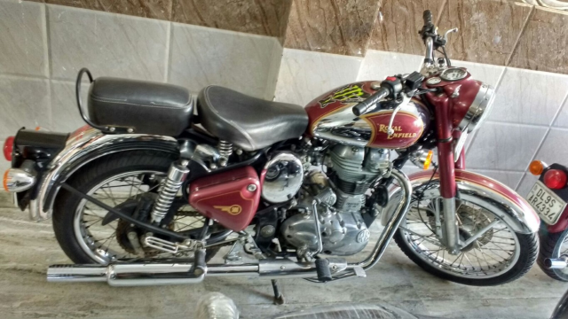 Royal Enfield Classic Chrome 500cc 2014