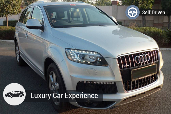 AUDI Q7 luxury SUV(Minimum 3 calendar days hire)