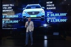 MG ZS EV Prices Revealed in India