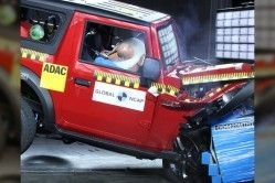 2020 Mahindra Thar Rated 4 Star in Global NCAP Safety Crash Test
