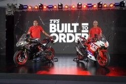 TVS Apache RR310 'Build to Order' Attains 100 Percent Bookings
