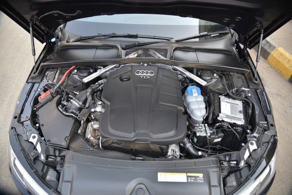 The 2.0-litre diesel engine makes 190hp and 400Nm