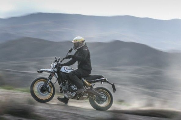 Off the road, the Desert Sled is composed and really encourages you to push harder.