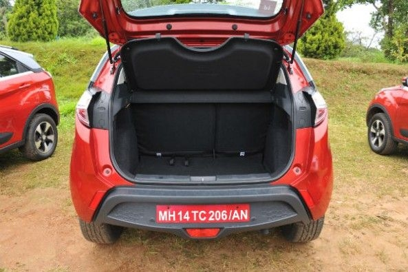 Boot can hold 350-litres worth of luggage.