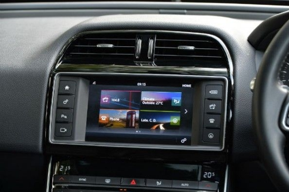 InControl touchscreen infotainment system