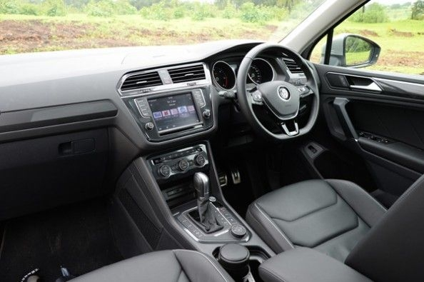 Leather upholstery standard.