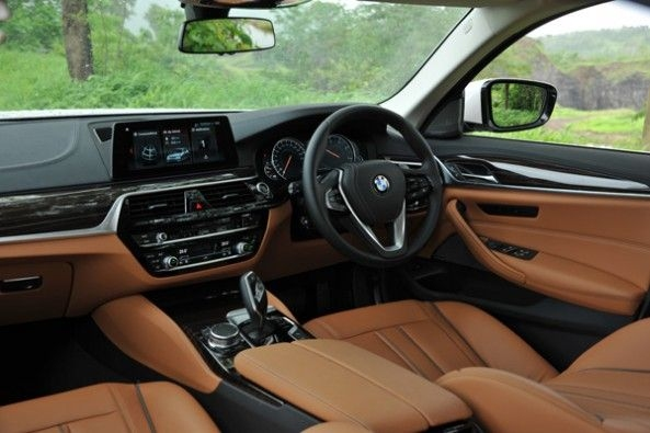 The BMW gets four-zone climate control.