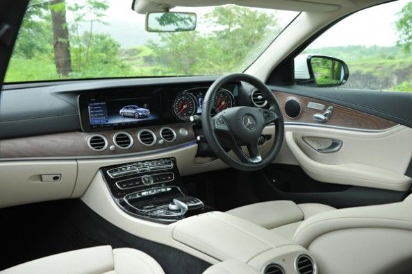 E-Class gets both Android Auto and Apple CarPlay.
