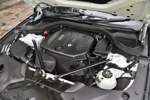 BMW engine is extremely refined.