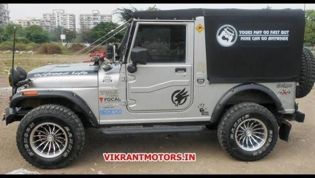 Mahindra Thar MM-540 4WD Price (incl  GST) in India,Ratings, Reviews