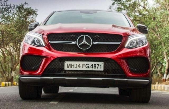 Mercedes-Benz GLE Coupe 450 AMG 2015