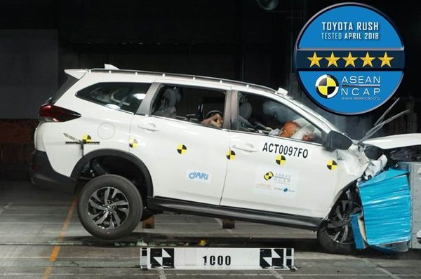 Toyota's new Rush gets a five-star ASEAN NCAP rating