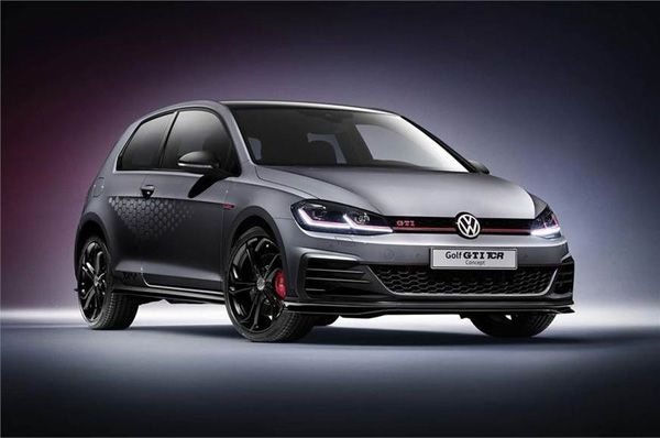 Volkswagen takes wraps off 290hp Golf GTI TCR