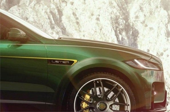 Lister teases fastest SUV.