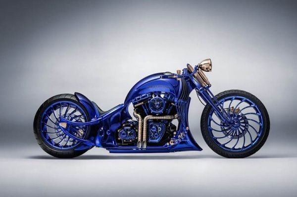 Harley-Davidson showcases Blue Edition in Zurich