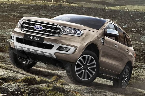 Ford reveals Endeavour facelift