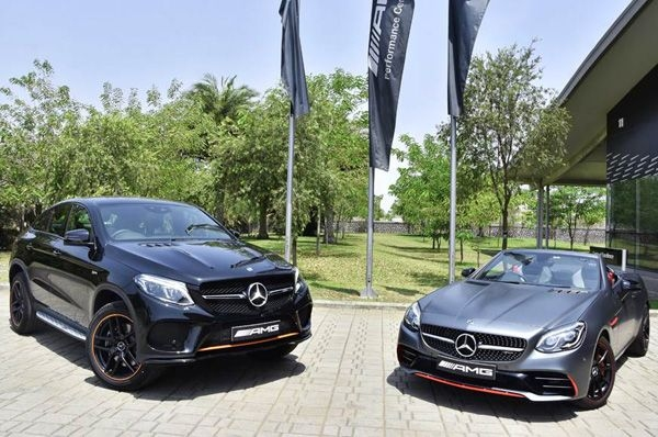 Limited edition Mercedes-AMG GLE 43, SLC 43 launched