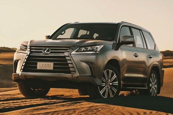 Lexus launches its LX 570 in India