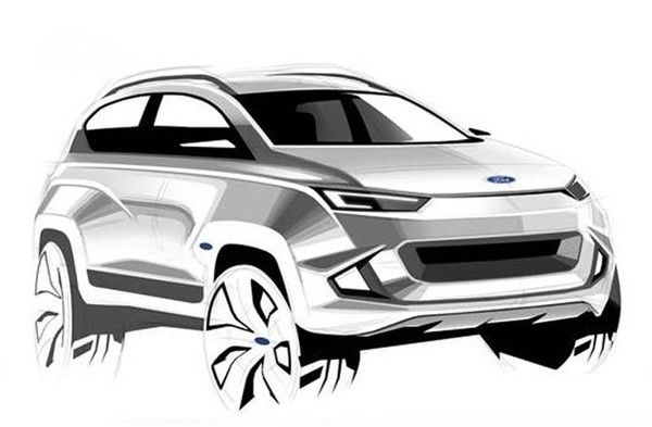 Ford Mach 1 crossover will be shown.