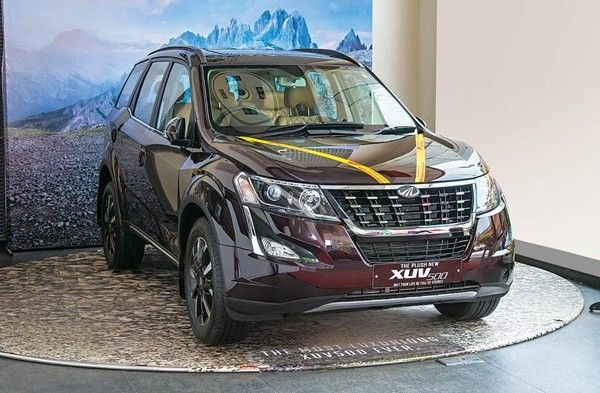 The top variant of the XUV500.