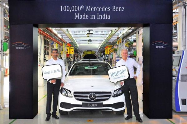 100,000th locally-assembled Mercedes-Benz model rolls out