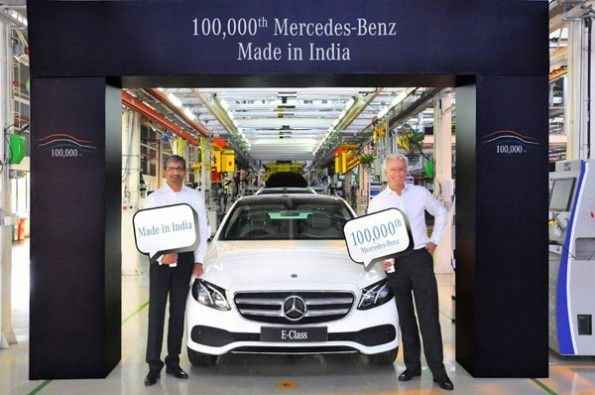 100,000th locally-assembled Mercs.