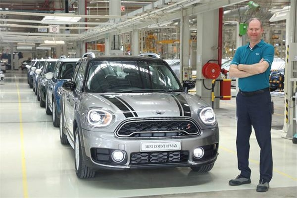 Local assembly of the Mini Countryman starts