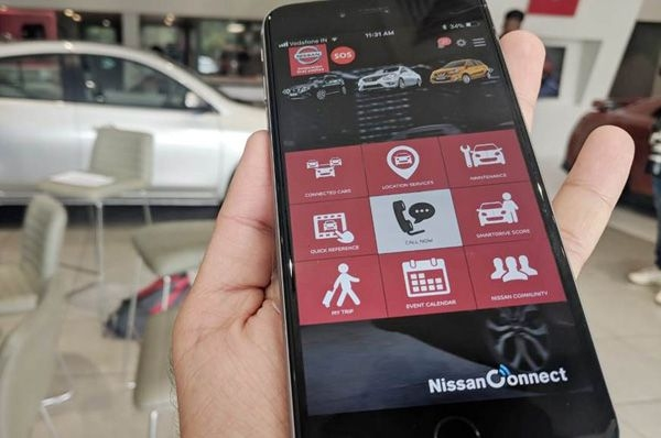 Nissan's Connect version upgraded to 1.2