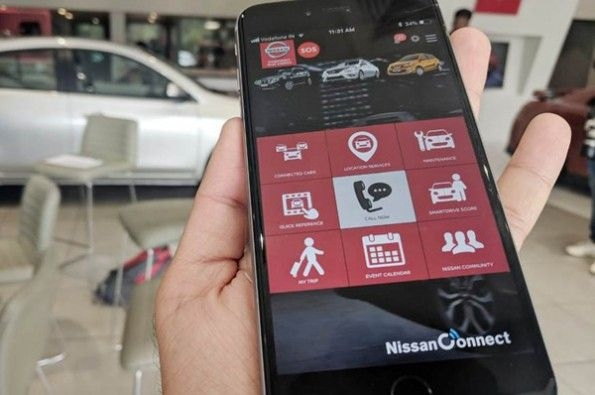 Nissan's Connect version upgraded to 1.2.