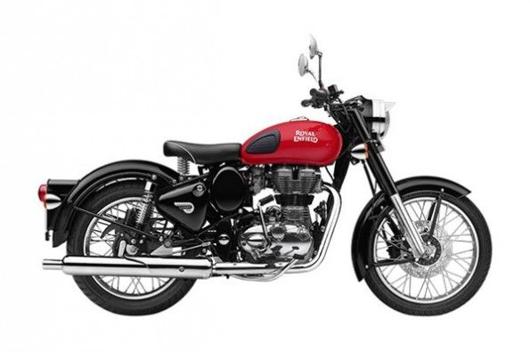 Royal Enfield adds rear disc.
