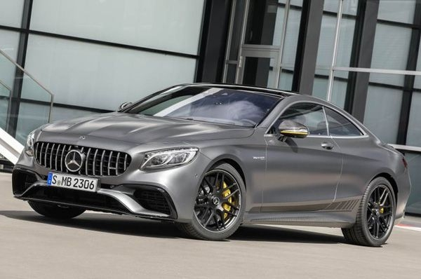 Mercedes-AMG will launch its S 63 Coupe 4Matic+ soon