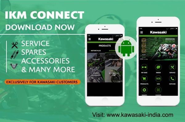 Kawasaki launches aftersales IKM Connect app