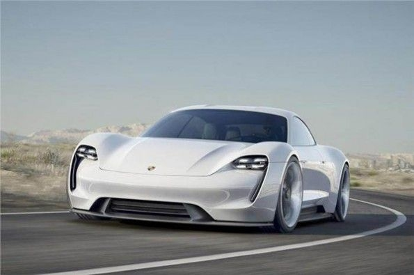 Porsche's Taycan will be its first all-electric sportscar.