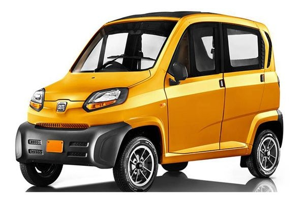 Bajaj's Qute will also have an electric version