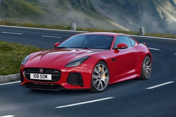 Jaguar launches F-Type SVR Coupe, Convertible in India