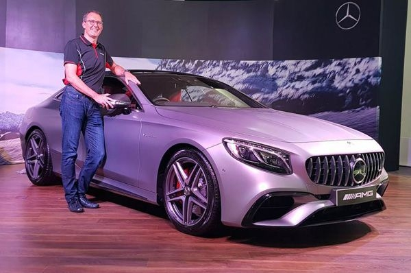 Mercedes-AMG launches facelifted S 63 Coupe