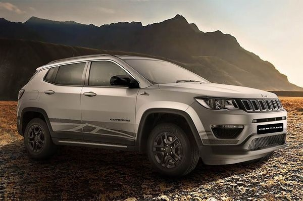 Jeep launches its Compass Bedrock in India