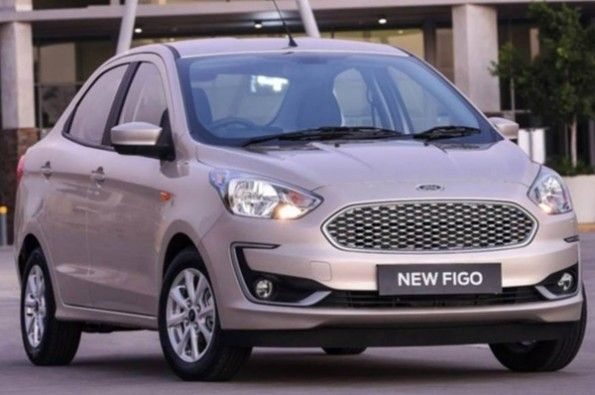 Ford shows Figo sedan for export markets.