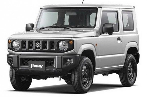 Official pictures of Suzuki Jimny released.