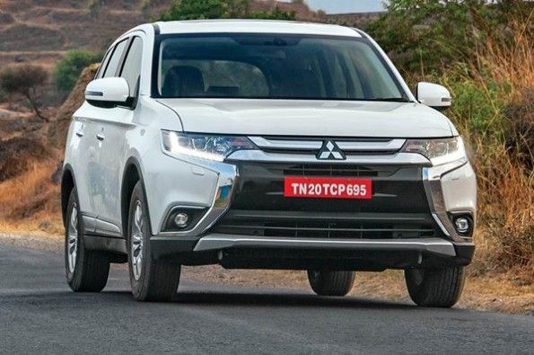 Mitsubishi launches its Outlander.