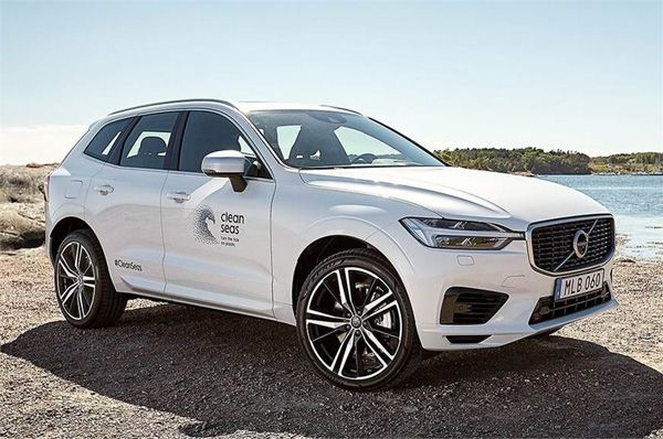 Volvo shows one-off XC60 plug-in made with recycled parts