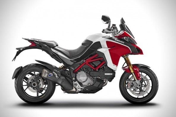 Multistrada 1260 Pikes Peak launch.