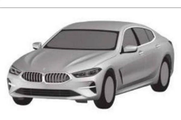 Patent pictures reveal BMW 8-series convertible, Gran Coupe