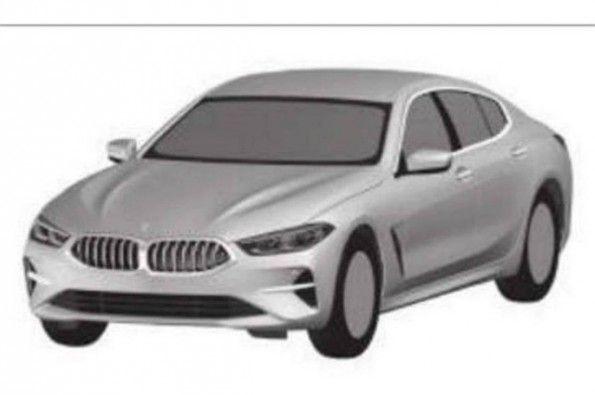 Patent pictures reveal BMW 8-series.