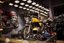 Royal Enfield stores offering discounts on riding gear and apparel