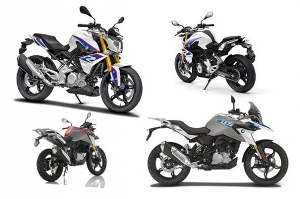 BMW's 313cc siblings, the sport-naked 310 R and adventure-tourer 310 GS, will go on sale soon.