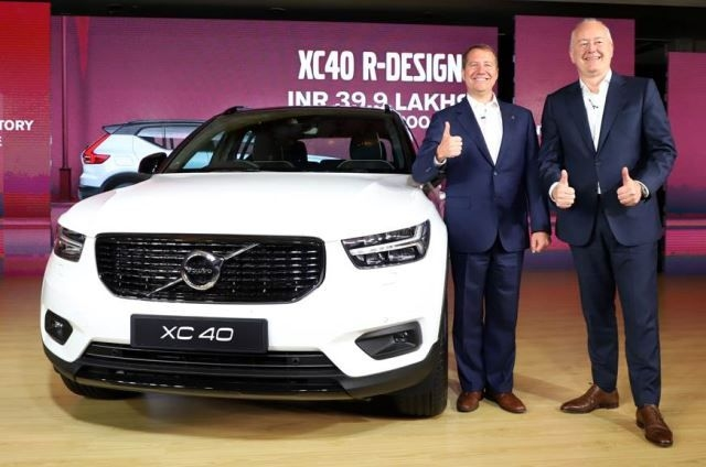 Volvo launches XC40 in India