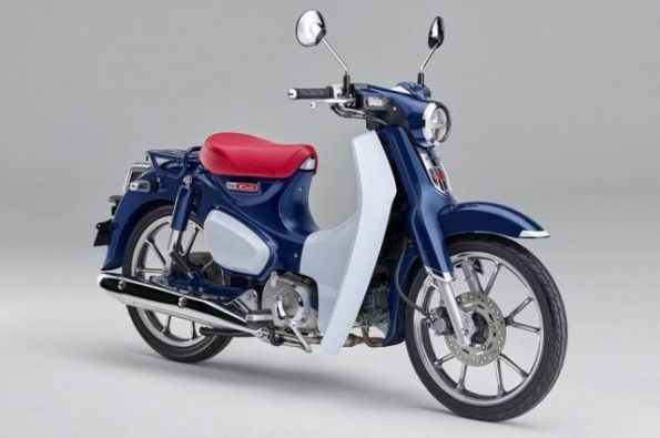 The retro-styled moped also has fuel-injection and ABS.