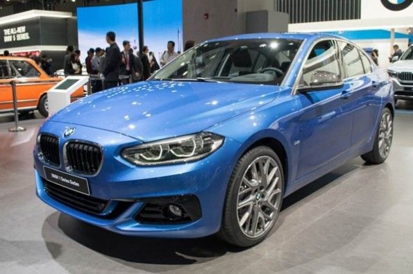 BMW 1-series sedan launches in more markets.